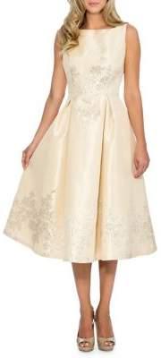 Decode 1.8 Boatneck Fit-&-Flare Dress