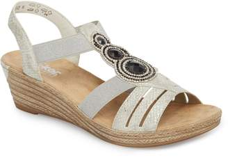 Rieker Antistress 'Fanni' Wedge Sandal