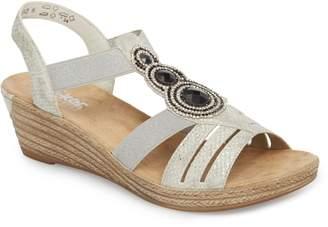 Rieker Antistress 'Fanni' Wedge Sandal
