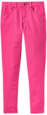 Joules Little Joule Girls' Linnet Skinny Fit Denim Jeans, Pink