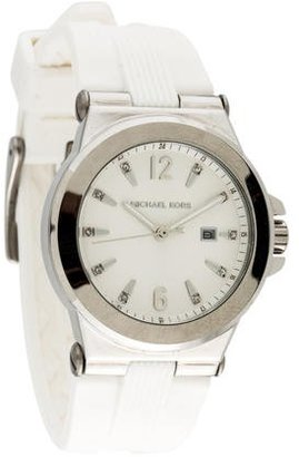 Michael Kors Mini Dylan Watch $95 thestylecure.com