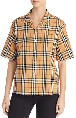Burberry Grutto Check Shirt