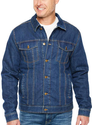 M·A·C Big Mac Midweight Sherpa Lined Denim Shirt Jacket - Big & Tall