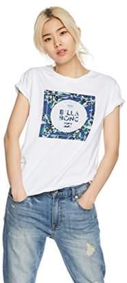 Billabong (ビラボン) - (ビラボン) BILLABONG [ レディース ] 半袖 Tシャツ (ロゴ プリント) [ AI013-206/LOGO SS TEE ] おしゃれ AI013-206 WBL WBL_ホワイト L