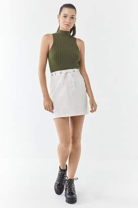 Urban Outfitters Molly Cinched-Waist Mini Skirt