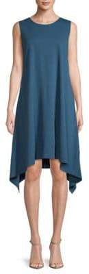 Lafayette 148 New York Punto Milano Draped Tank Dress
