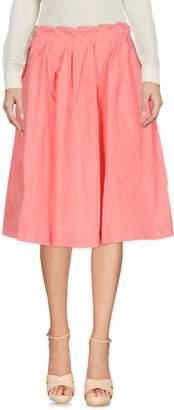 Jil Sander Navy Knee length skirts - Item 35344641CO