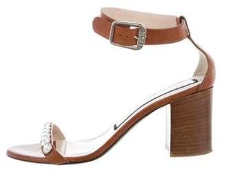 No.21 No. 21 Embellished Ankle Strap Sandals