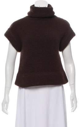 Ter Et Bantine Short Sleeve Wool-Cashmere Turtleneck