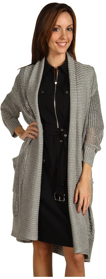 Kenneth Cole New York Open Weave Sweater