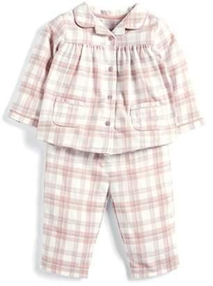 Mamas and Papas Baby Girls' Pink Check Pyjamas Sets, Sgd