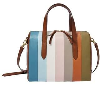 Fossil Sydney Satchel Handbags Colorful Stripes