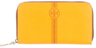 Tory BurchTory Burch Logo Zip-Around Wallet