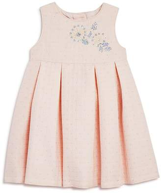 Pippa & Julie Girls' Embellished Pleated Dress - Baby