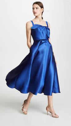 Marchesa Tea Length Gown