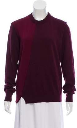 Celine Wool & Cashmere-Blend Crew Neck Sweater