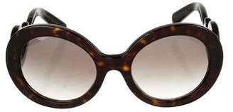Prada Minimal Baroque Sunglasses w/ Tags