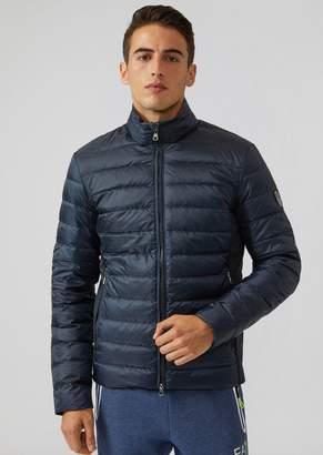 Emporio Armani Ea7 Padded Windproof Technical Fabric Jacket