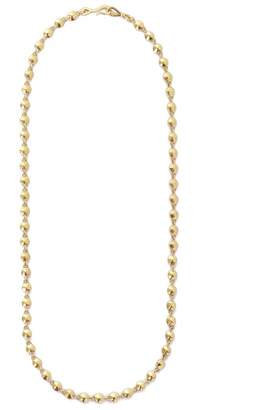 Diana Mitchell Gold Nugget Link Necklace - Yellow Gold