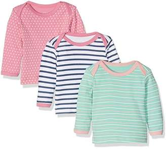 Care Baby Girls' Birte Long Sleeve Top, Pack of 3,104