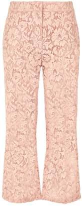 Valentino Lace Kick Flare Trousers