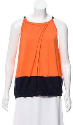 Trina Turk Color-Block Sleeveless Top