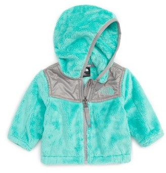 Infant Girl's The North Face 'Oso' Fleece Hooded Jacket $65 thestylecure.com
