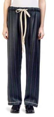 Loewe Silk Stripe Pajama Trousers