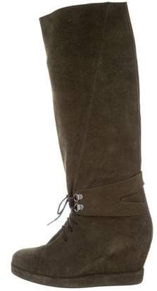 Surface to Air Knee-High Wedge Boots