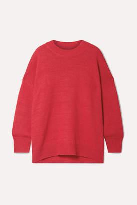 Etoile Isabel Marant Gae Alpaca-blend Sweater - Red