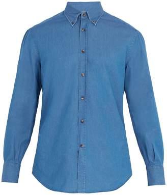 Brunello Cucinelli Regular-fit single-cuff cotton shirt