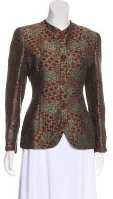 Giorgio Armani Brocade Structured Jacket