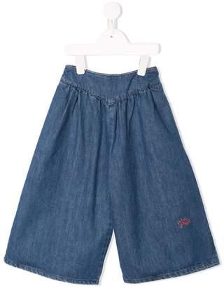 Bobo Choses elasticated waistband wide-legged jeans