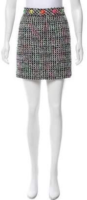 Marc Jacobs Tweed Mini Skirt