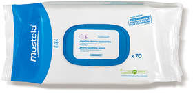 Mustela Dermo-Soothing Wipes - Delicately Fragranced