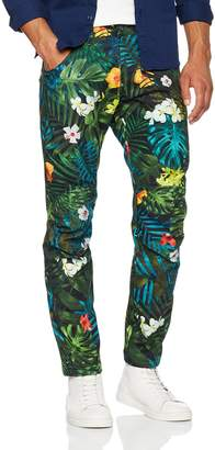 G Star Men's 5622 Elwood X25 Jeans by Pharrell Williams in Aloha