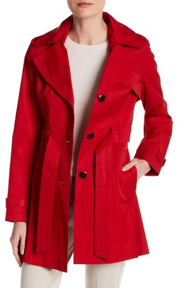 Via Spiga Hooded Trench Coat $180 thestylecure.com