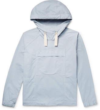 Albam Sailing Smock Cotton-Twill Hooded Jacket
