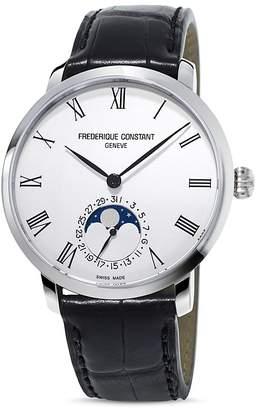 Frederique Constant Manufacture Slimline Moonphase Watch, 42mm