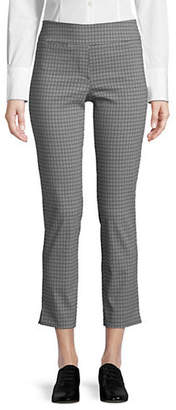 Isaac Mizrahi IMNYC Slim Straight Pull-On Pants