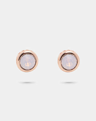 bf7224c3a6c Pink Crystal Stud Earrings - ShopStyle UK