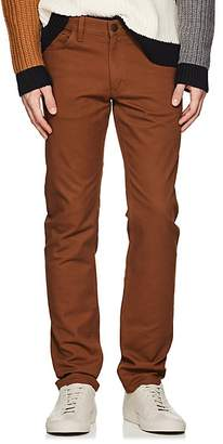 Theory Men's Raffi Stretch-Cotton Slim 5-Pocket Chinos