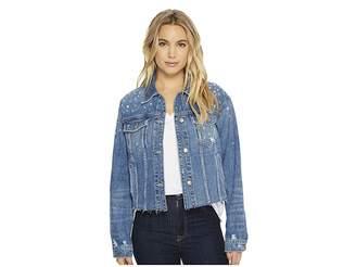 Joe's Jeans The Cropped Boyfriend Jacket Women's Coat