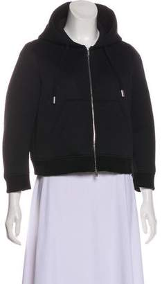 DSQUARED2 Hooded Cropped Jacket