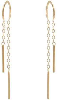 Melissa Joy Manning horseshoe chain earrings