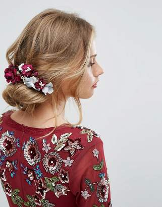 Her Curious Nature Dark Bloom Blossom Clip