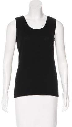 Neiman Marcus Cashmere Sleeveless Top w/ Tags