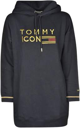 Tommy Hilfiger Icons Embroidered Hoodie Dress
