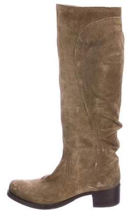 Vic Matié Suede Knee-High Boots