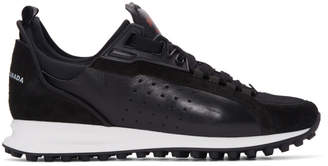 DSQUARED2 Black 2Run Sneakers